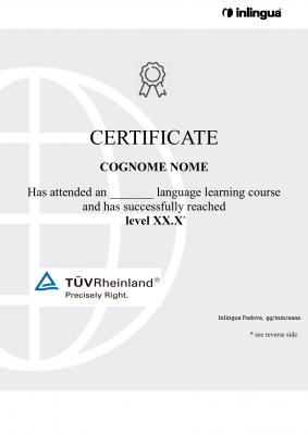 certificato-inlingua